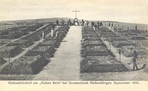 Nagysink:első világháborús katonai temető.1916