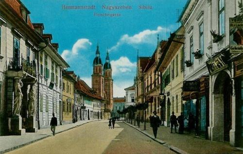 Nagyszeben:Mészáros utca.1915