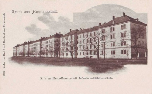 Nagyszeben:Katonai Alreáliskola kaszárnya.1903