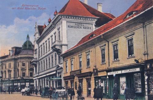 Nagyszeben:Római Császár szálloda.1916
