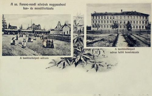 Nagyszeben:szent Ferenc rendi nővérek tanitóképző intézete.1905