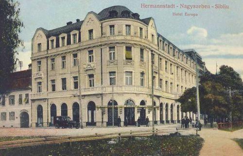 Nagyszeben:Hotel Europa.1915