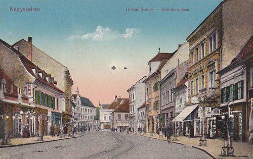 Nagyszeben:Disznódi utca.1916