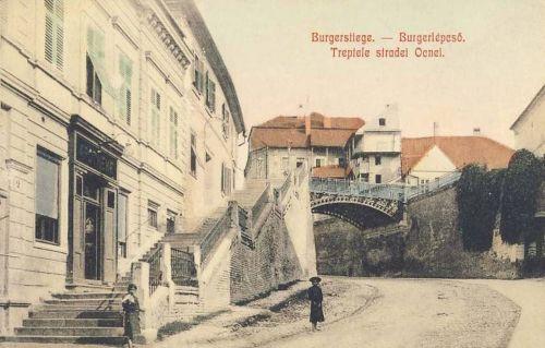 Nagyszeben:Polgári lépcső.1908