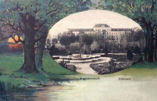 Nagyszeben:Erlen park.1901