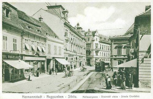 Nagyszeben:Disznódi utca.1918
