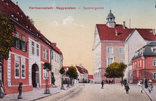 Nagyszeben:Sporer gasse.1916
