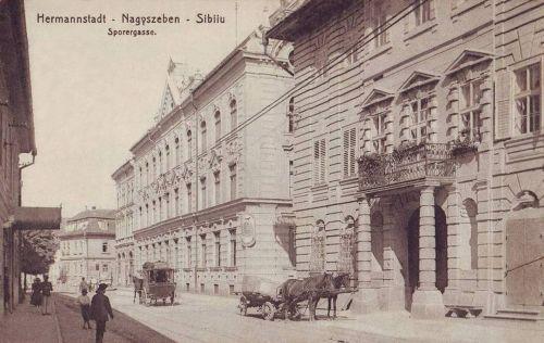 Nagyszeben:Sporer gasse.1915