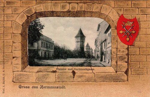 Nagyszeben:város cimere.1901