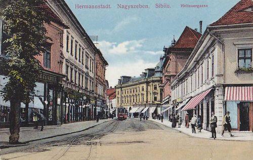 Nagyszeben:Heltauer gasse.1915
