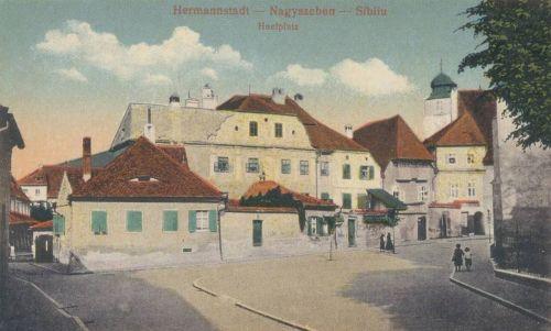 Nagyszeben:Huet platz.1917