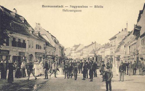 Nagyszeben:Nagydisznódi utca.1915