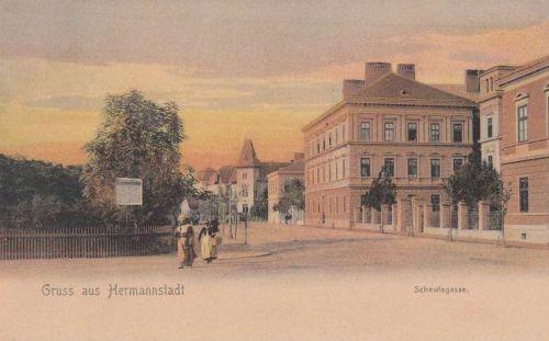 Nagyszeben:Schewisgasse.1904
