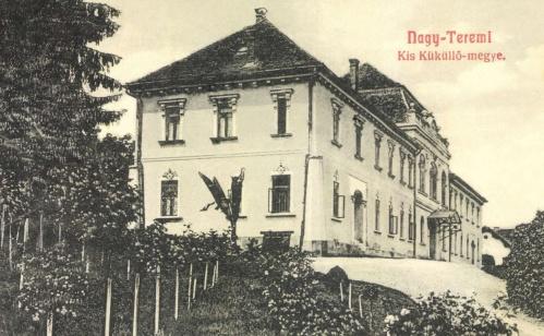 Nagyteremi:Bethlen kastély,1908-ban.