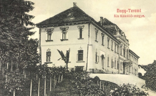 Nagyteremi:Bethlen kastély,1908.