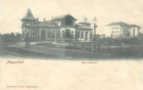 Nagyvárad:sport pavilon.1902