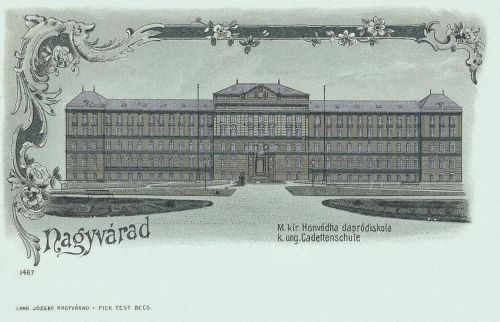 Nagyvárad:Magyar Királyi Hadapród iskola.1899