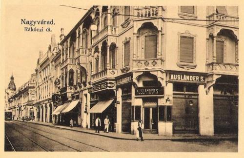 Nagyvárad:Rákóczi utca.1912