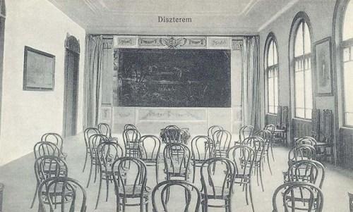Nagyvárad:Nogáll Szent Vincze intézet,diszterem.1914
