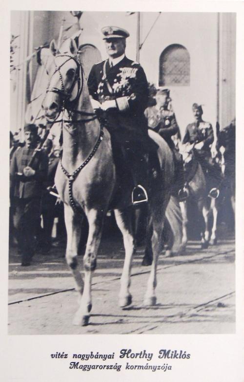 Nagyvárad:Horthy Miklós Magyarország kormányzója.1940
