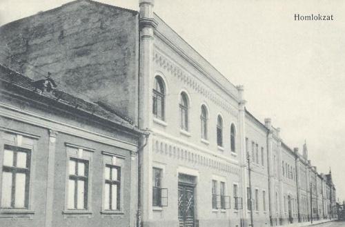 Nagyvárad:leánynövendékek homlokzata.1914