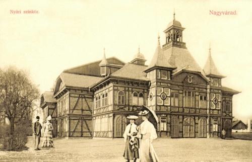 Nagyvárad:nyári szinház,(szinkör),1908.