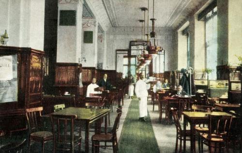 Nagyvárad:városi kávéház,1916.