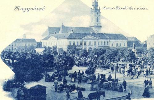 Nagyvárad:Szent László téri vásár,1899.