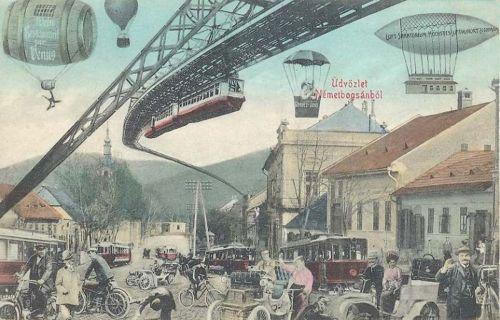 Németbogsán:a jövőben,100 év múlva.1911