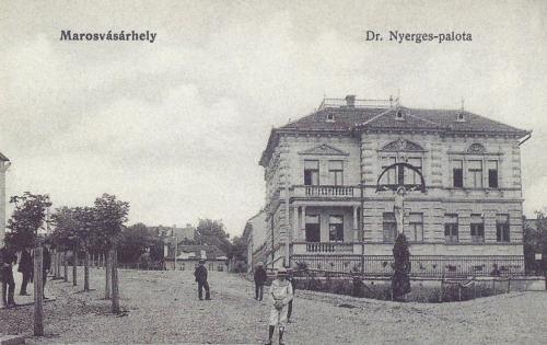 Dr. Nyerges palota,orvosi rendelő,1905 körül.