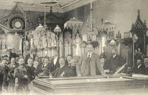 Orsova:kávézó belseje,1905.