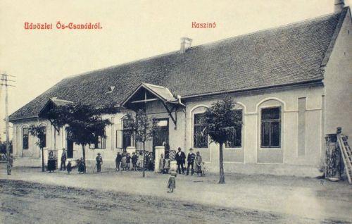 Őscsanád:Kaszinó.1908
