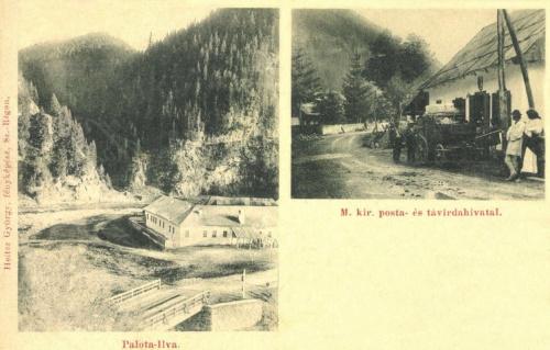 Palotailva:Magyar királyi posta és távirda hivatal,1901.