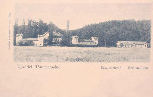 Szlatinafüred:Pável sósfürdő.1898