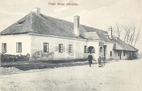 Piski:1848-as csárda.1908