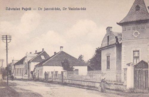 Puj:Dr.Jancsó és Dr.Vasinka ház.1915