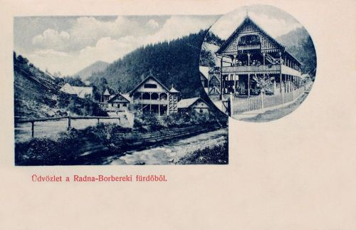 Radna-Borberek-fürdő,villák 1900