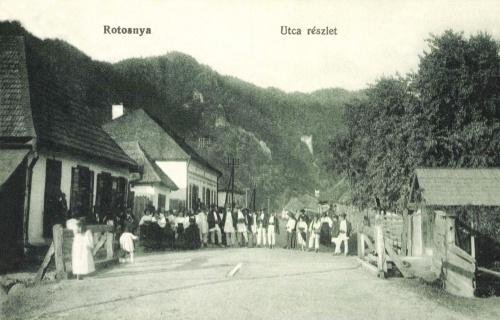 Ratosnya:utca részlet,1915.