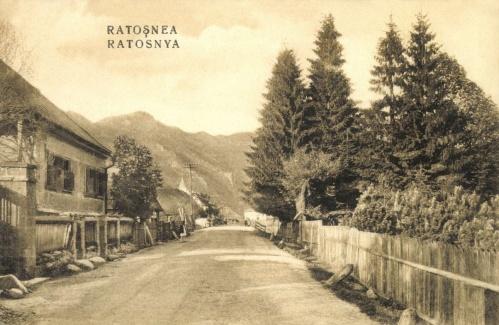 Ratosnya:Fő utca,1918.