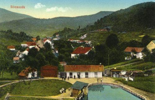 Rónaszék:fürdő látképe.1914