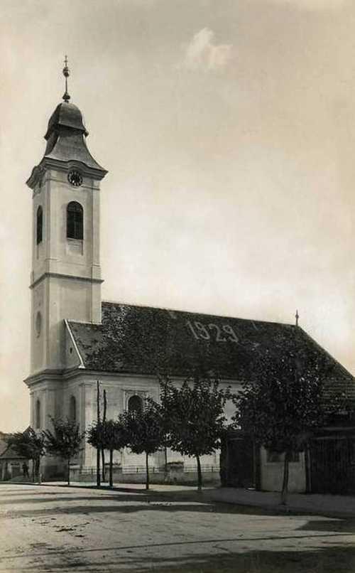 Református kistemplom (Gecse Dániel utca),1941-ben.
