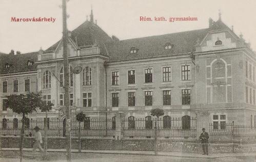 Marosvásárhely:katolikus gimnázium.1908