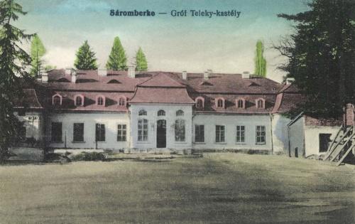 Sáromberke:Teleki kastély,1916.