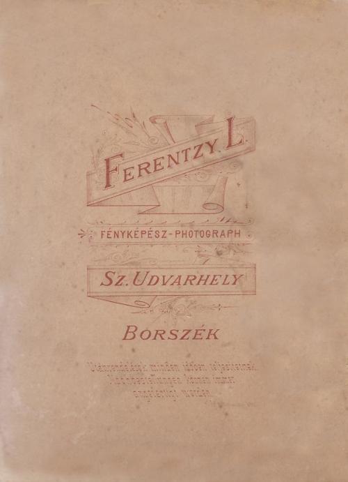 Borszék:Ferentzy L.fényképe.1889