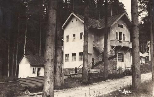 Borszék:Mihai villa( ma Nosztalgia panzió).1938