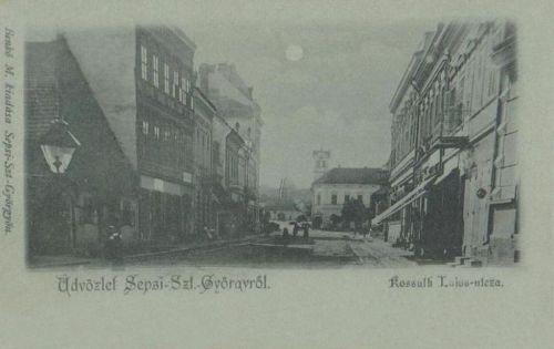 Sepsiszentgyörgy:Kossuth Lajos utca.1899