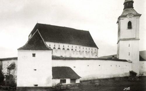 Székelyderzs:unitárius vártemplom,1942.
