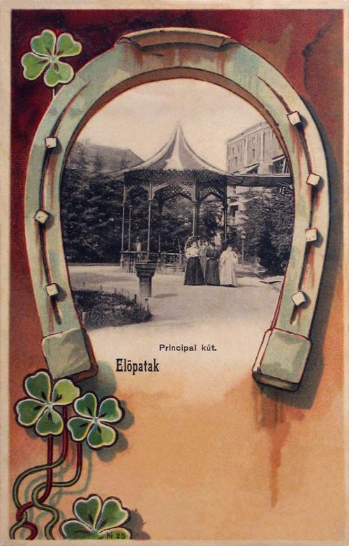 Előpatak-Szeklerland-Tinutul Secuiesc:főkút.1901