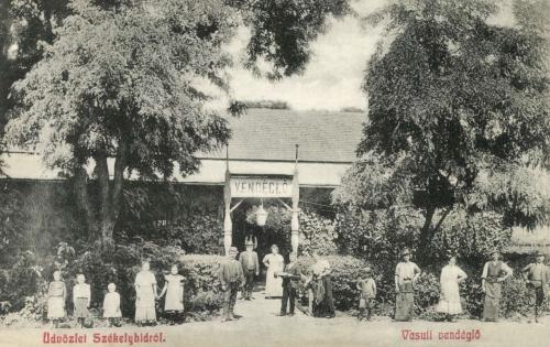 Székelyhid:vasúti vendéglő,1908.