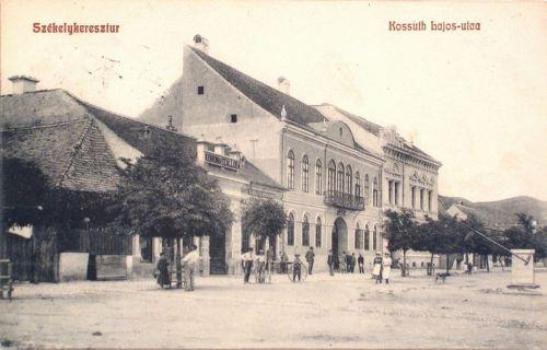 Székelykeresztúr:Kossuth Lajos utca.1909